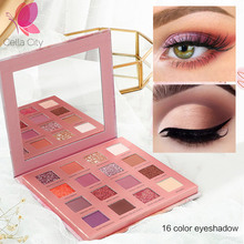 Cellacity eyeshadow pallete Glitter Matte Pigment Eyeshadow Loose Powder High quality Quality Eyesha