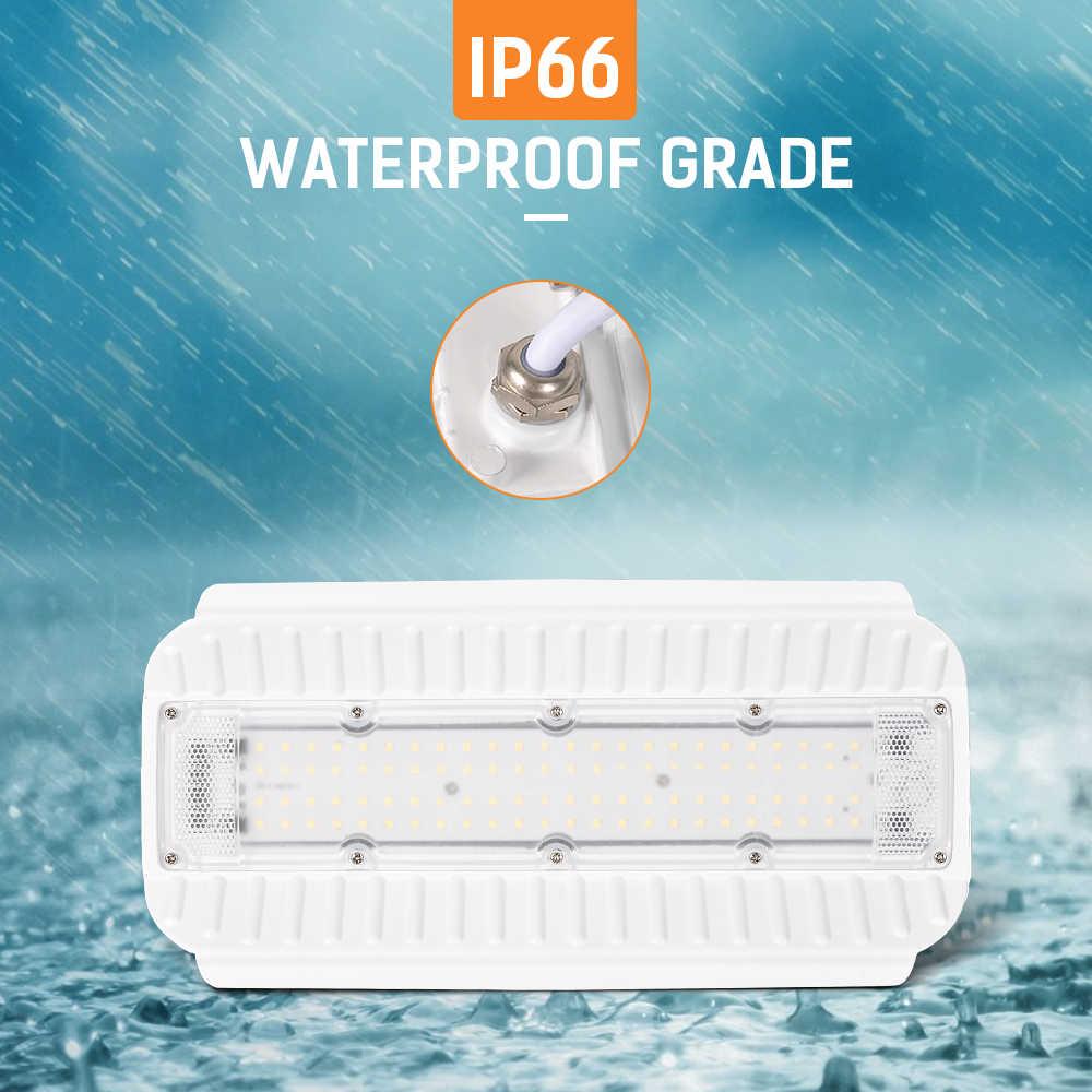 50 ワット/100 ワット洪水ライト Led ヨウ素タングステンランプ AC2200V IP66 防水 LED 屋外照明スポットライトランプ産業ライト