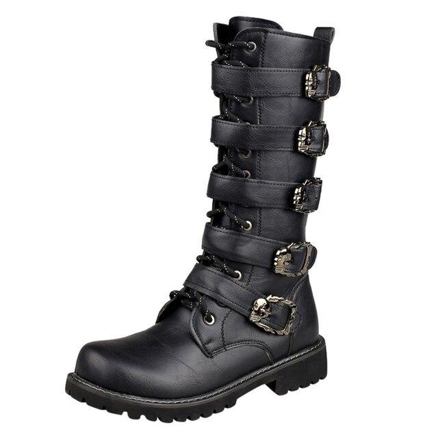 Men's Biker Boots 1