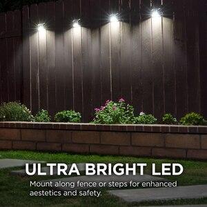 Image 5 - Port lotniczy zestaw słuchawkowy ze stali nierdzewnej naścienne oświetlenie ogrodowe wodoodporna słoneczna zasilana ścienna światła do ogrodu frontowe drzwi ogrodzenia