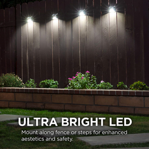 Image 5 - Stainless Steel Outdoor Solar Light  Solar Garden Wall Light Waterproof Solar Powered Wall Lights for Garden Front Door Fence