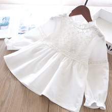 2021 Spring Girls Lace Blouse Children's Clothing Wholesale