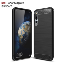 цена For Huawei Honor Magic 2 Case Silicone Shockproof Anti-knock Case For Huawei Honor Magic 2 Cover For Huawei Honor Magic 2 Funda