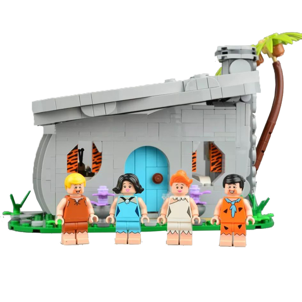 2019 New 838Pcs 51001 The Flintstones Model Compatible IdeasING 21316 Building Blocks Bricks Educational Kids DIY New Toys Gifts