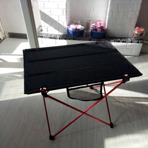 Image 5 - Portable Foldable Table Camping Outdoor Furniture Computer Bed Tables Picnic Aluminium Alloy Ultra Light Folding Desk Furniture