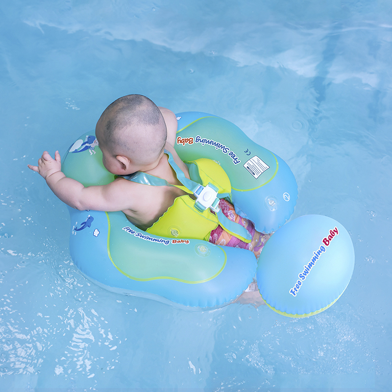 New Baby Swim Ring Inflatable Infant Armpit Floating Kids Swimming Pool Accessories Circle Bathing Inflatable Double Raft Rings