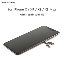 Mobile Phone Display LCD Screen For iPhone X XR LCD Display For iPhone XS OLED Original OLED Screen Replacement экран на айфон