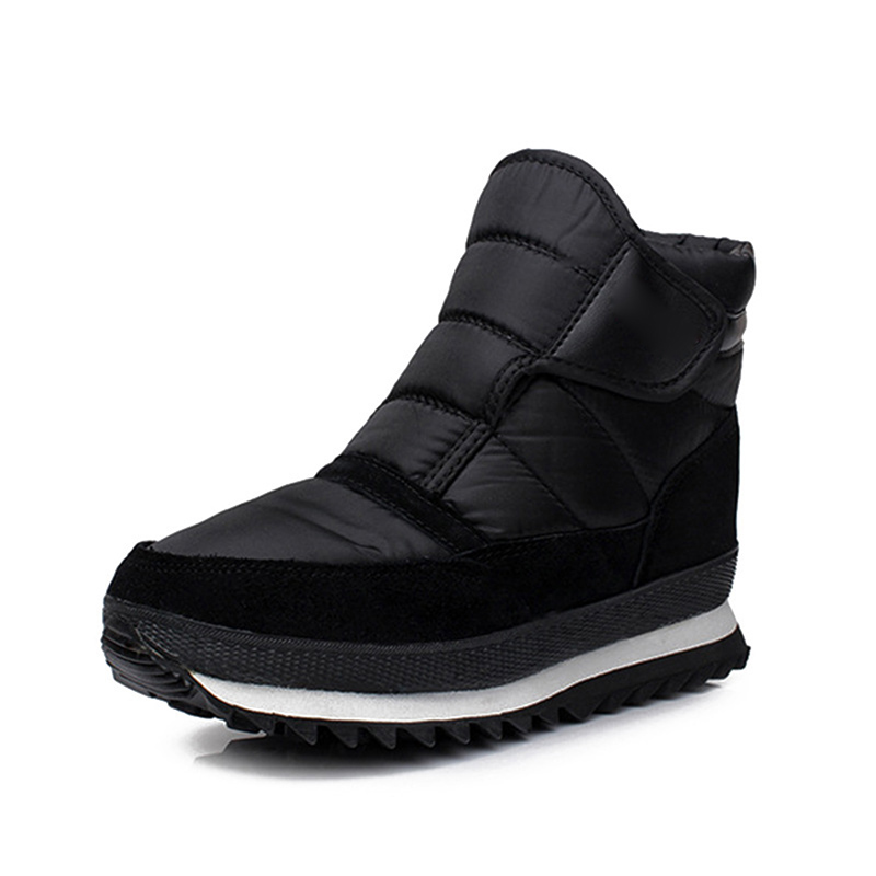 Mens Snow Boots Winter Warm Waterproof Ankle Boots Hiking Casual Shoes Outdoor Best Sale-WT image