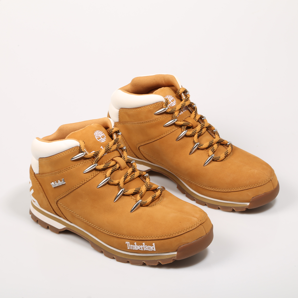 US $188.14 |TIMBERLAND EURO SPRINT HIKER WHEAT WHIT TB06235B231 Leather Split Leather Male Leather ANKLE BOOTS Men 70984 in Basic Boots from Shoes on