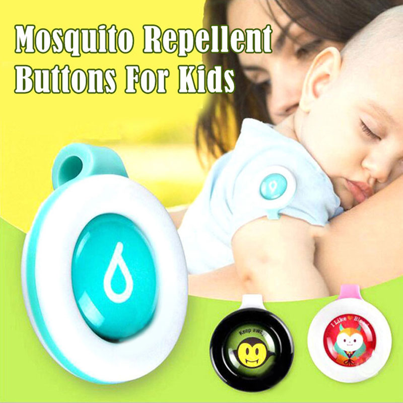 Baby Health Care Baby Mosquito Buckle Cartoon Kid Adult Mosquito Button Bug Repellent Button Pregnant Women Anti-Mosquito Button