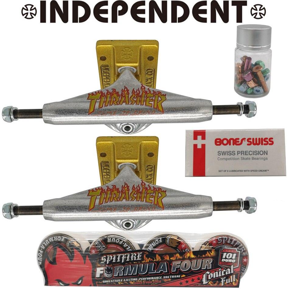 136mm 145mm 149mm Niezależne Trucki Do Deskorolki Formuła 4 Spitfire Deskorolka Koła Kości łożyska Do Deskorolki Profesjonalne