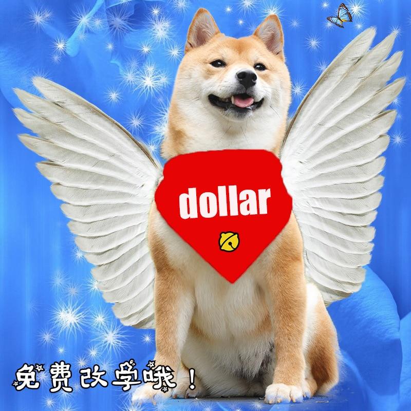Customized Dog Salivatowel Pet Scarf Cattricorntowel Dog Bib