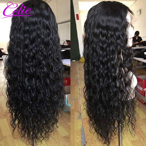 Image 2 - Celie Water Wave Wig 13x6 Lace Front Human Hair Wigs 150 180 250 Density Wet And Wavy Human Hair Wigs Water Wave Lace Front Wig