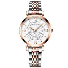 Women Watch Fashion Luxury Rose Gold Steel Strap Analog starry sky Quartz Ladies Wrist Watches Gift Clock Watch Relogio feminino цена и фото