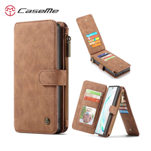 For Samsung Galaxy Note 10 Wallet Case Caseme Vintage Leather Flip Book Style Mobile Phone Bags For Galaxy Note10 plus Coque