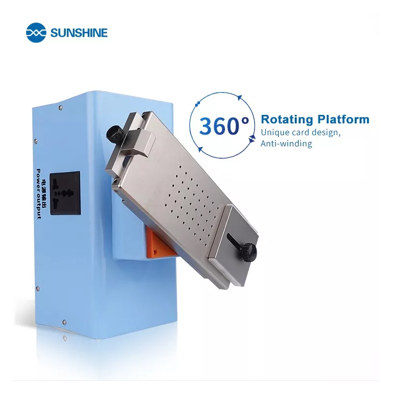 SUNSHINE S-918F Edge Screen Separate Glue Remover Machine Support With Middle Frame Operation