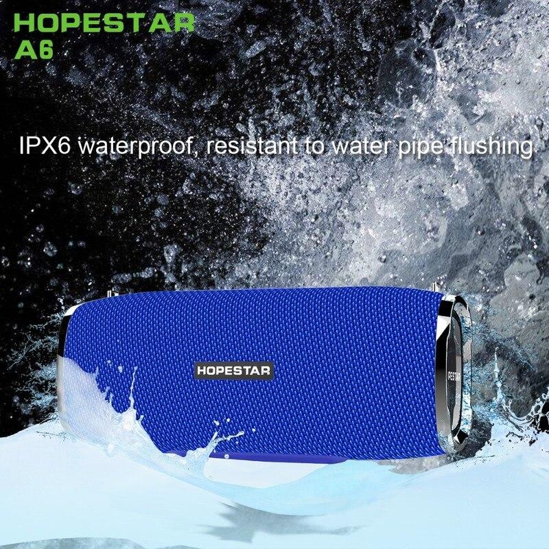 A6 Super Bass 4D Stereo Bluetooth Speakers Waterproof Portable Column wireless speaker Music Center Subwoofer Sound bar Boom Box 4