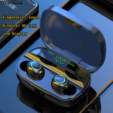 Trop Weiling Bluetooth Earphone TWS Wireless Earphones Headphones Noise Canceling Handsfree Earbuds Headset Cordless Headphones bluetooth 5 0 earbuds wireless earphone headphones handsfree noise cancellation headset for phone android