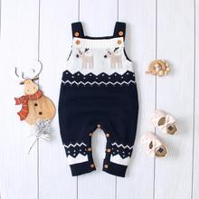 Baby Rompers Christmas Newborn Autumn Sleeveless Little Girls Jumpsuits Outfits Toddler Boys Overalls Children's Unisex Clothes unisex siamese overalls auto repair work clothes sleeveless protective coverall dancing strap jumpsuits working uniforms 2019