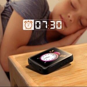 Image 5 - Yeni BENJIE X1 Bluetooth MP3 çalar 16GB Mini dokunmatik ekran müzik çalar desteği FM radyo e kitap Video oynatıcı inşa hoparlör