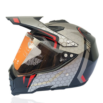 цена на One-Piece Full Cover Four Seasons Scrambling Motorcycle Helmet Road off-Road Racing Downhill Pedal Helmet Male