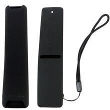 Silikon uzaktan kumanda kılıfı Samsung akıllı TV için uzaktan koruyucu kapak kılıf darbeye BN59 01242A BN59 01298C BN59 01241A