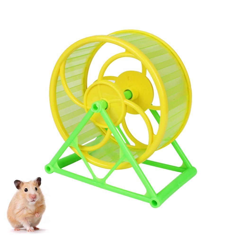 Running Wheel With Bracket Toy For Pet Hamster Sports Supplies