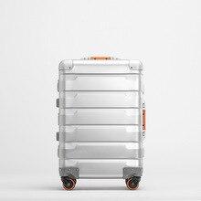 Travel-Suitcase Universal-Wheel Luxury Luggage 100%Aluminium 24--Inch 20-Top-Quality