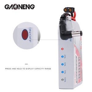 Image 5 - Gaoneng GNB 3000MAH 2S 5C Goggles Lipo Battery Power Indicator for Fatshark Dominator Skyzone Aomway FPV Goggles RC Drone
