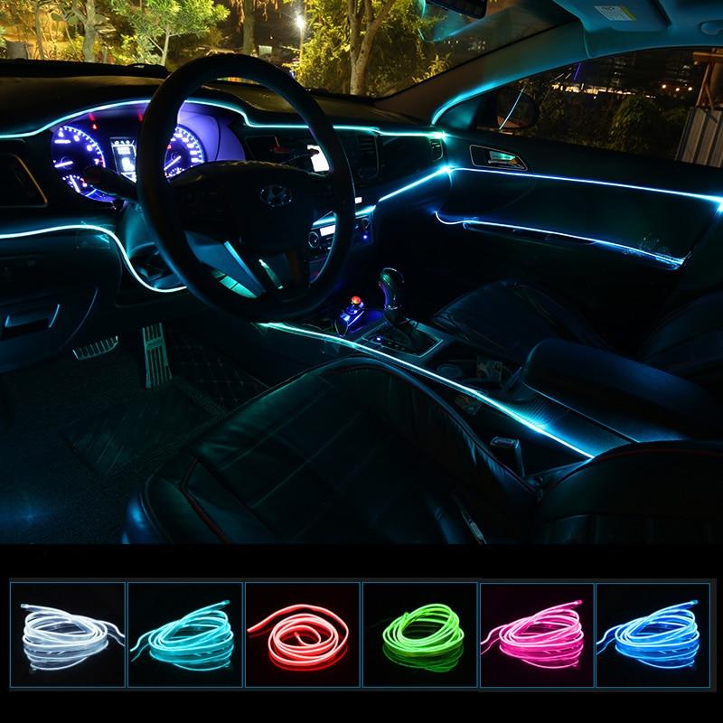 Светодиодная лента для автомобиля, декоративный неоновый светильник для Toyota Corolla Camry Avensis Yaris Hilux Prius Land Cruiser