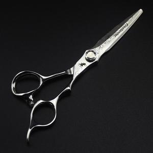 Image 3 - 6 inç satış japonya saç makas teflon makası şam kuaförlük makas kuaför İnceltme makas kuaför jilet saç kesimi