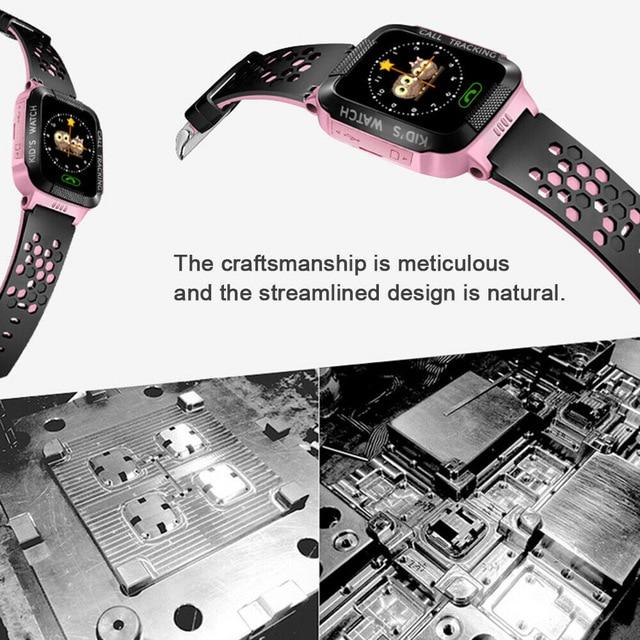 Children Touch Color Screen Smart Watch Remote Camera 5