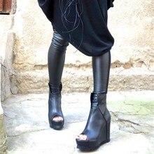 Season Woman Boots Low Fish Mouth Leisure Slope With Woman Boots High With Woman Boots лоферы zenden woman zenden woman ze009awaefo7