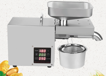 110V/220V adjust temperature automatic cold press oil machine, oil cold press machine, sunflower seeds oil extractor, oil press недорого