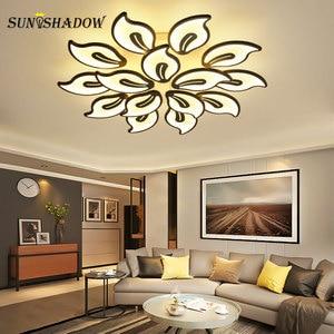 Image 2 - 110v 220v Modern Led Ceiling Light luminaires Chandelier Ceiling Lamp for Foyer Living room Bedroom Dining room Kitchen Lighting