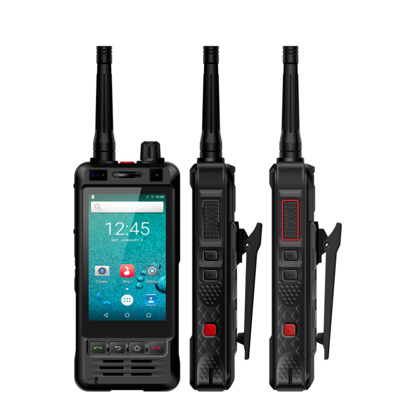 3G Wifi Radio W5 Android 6.0 Phone PTT Radio IP67 UHF Walkie Talkie 5MP Camera REALPTT ZELLO Internet Radio POC Transceiver