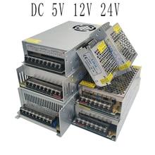 5V 12V 24 V Netzteil 1A 2A 3A 5A 6A 8A 10A 12A 15A 20A 25A 30A-60A transformator Led Power Versorgung 5 12 24 V Volt 220V zu 12V