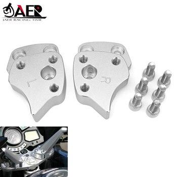 JAER 25mm 1 inch Handlebar Riser Clamp For Yamaha FJR 1300 2001-2005 Motorcycle Accessories Handle Bar Riser Height up Adapter