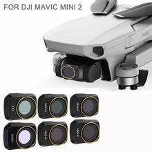 สำหรับDJI Mini 2 Droneกล้องGimbalเลนส์ND PL UV CPLกล้องเลนส์SunhoodสำหรับDji Mavic mini2อุปกรณ์เสริม