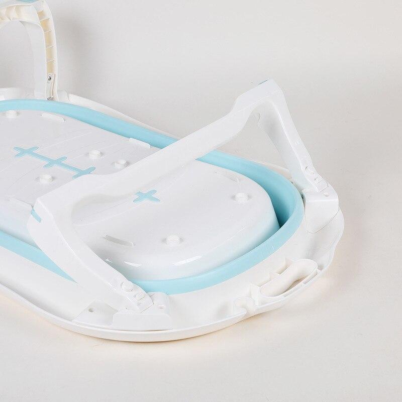 Écologique nouveau-né bébé pliant baignoire Portable pliable enfants lavage baignoire pliante baignoire antidérapante sécurité Spa baignoire - 5