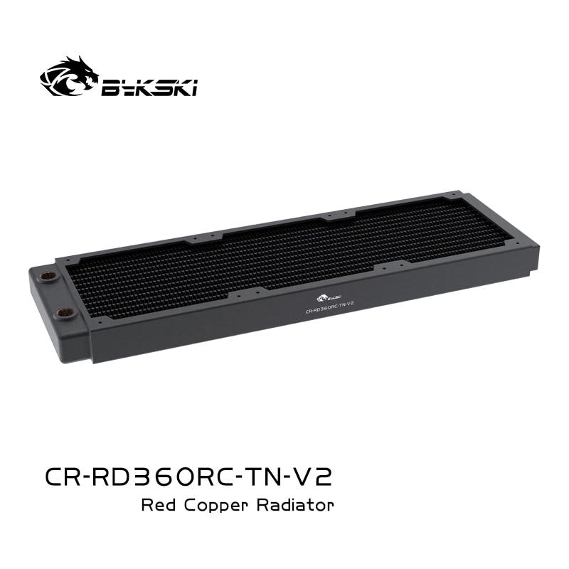 Pacote bykski 360mm radiador de água de refrigeração de cobre decoração do pc dissipador de calor líquido para 12cm ventilador cerca de 30mm,CR-RD360RC-TN-V2