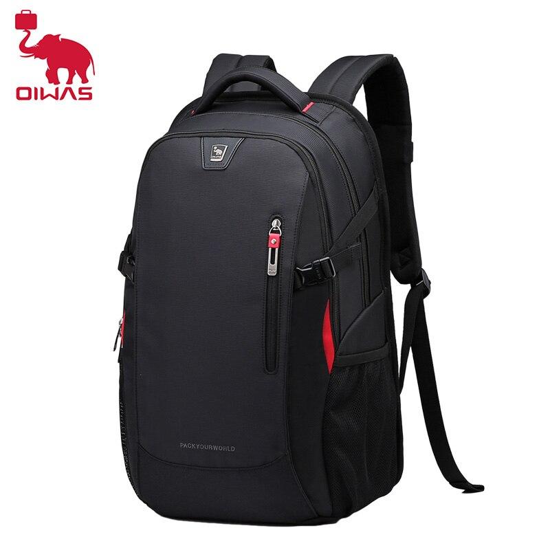 OIWAS Business Bag 14 inch Laptop Backpack man Waterproof Nylon 29L Casual Shoulder Bag Travel Teenage men Backpack mochila