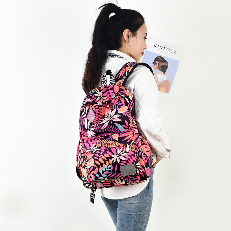 Closeout DealsBackpacks Girls Bags Teenagers Hawaii-Style Travel School Fashion Women Brand for Print