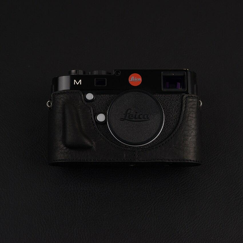 [VR] Handmade ของแท้กล้องหนังครึ่งสำหรับ Leica M240 M240P MD Typ262 M Typ262 มม. Typ246-ใน กระเป๋ากล้อง/วิดีโอ จาก อุปกรณ์อิเล็กทรอนิกส์ บน title=