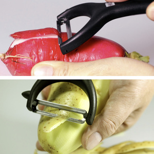 Image 5 - Huohou Melon ผลไม้ Peeler สเตนเลสผลไม้ Peeler Multifunction Planing มีดผิว ครัวอุปกรณ์