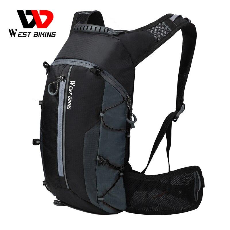 WEST BIKING велосипедные сумки, портативный водонепроницаемый рюкзак, объем 10 л, сумка для воды для велоспорта, занятий спортом на открытом возду...