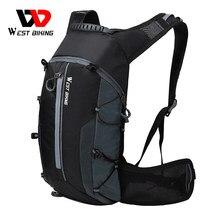 West biking bicicleta sacos portátil à prova d10água mochila 10l ciclismo saco de água ao ar livre esporte escalada caminhadas bolsa hidratação mochila