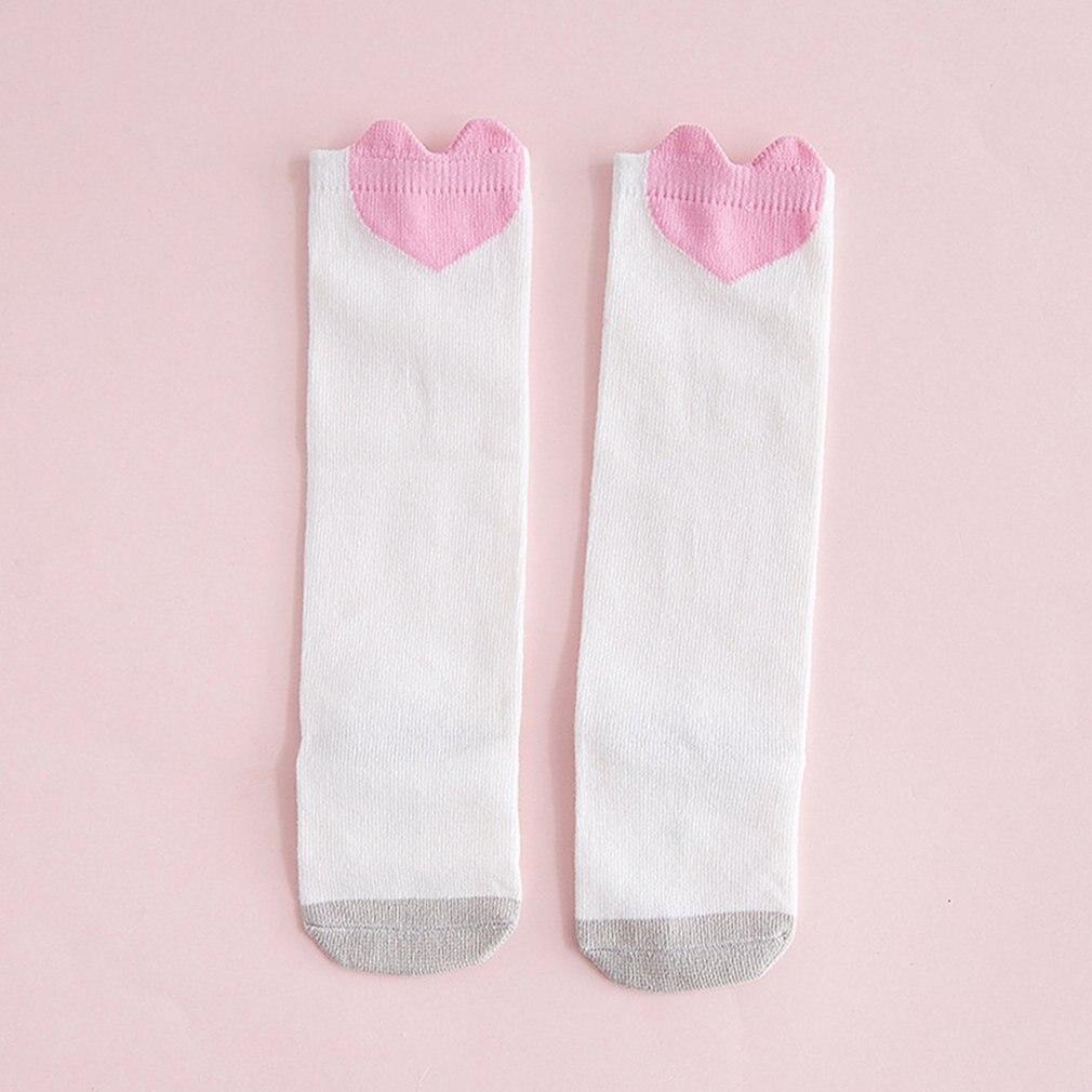 1 Pair Cute Cartoon Baby Socks Soft Comfortable Cotton Socks Anti-slip Knee Socks Girl Boy Toddlers Thick Warm Winter Socks 0-3Y