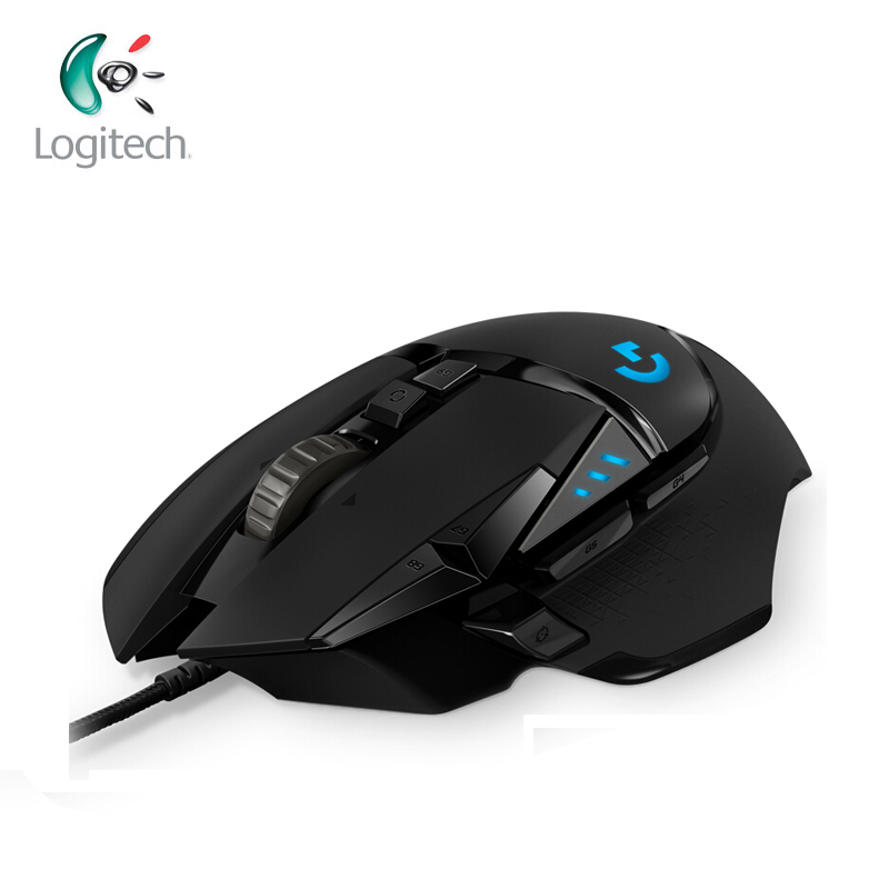 Logitech G Series Gaming Mouse G302 G402 G502 Hero DAEDALUS PRIME HYPERION FURY SPECTRUM Gaming Mouse for Mouse Gamer-in Mice from Computer & Office    1