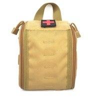 Nylon Medische Tas Ehbo kits Utility Medische Accessoire Zak Outdoor Jacht Wandelen Survival Modulaire Medic Bag Pouch-in Veiligheid en overleving van sport & Entertainment op